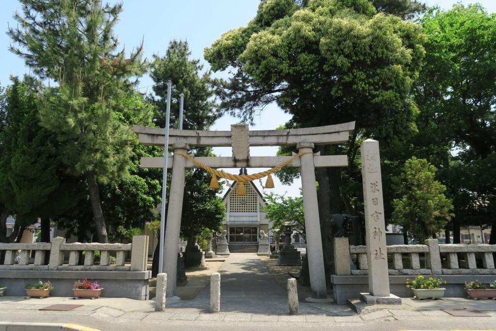 米日吉神社 フォトグラフィティ
