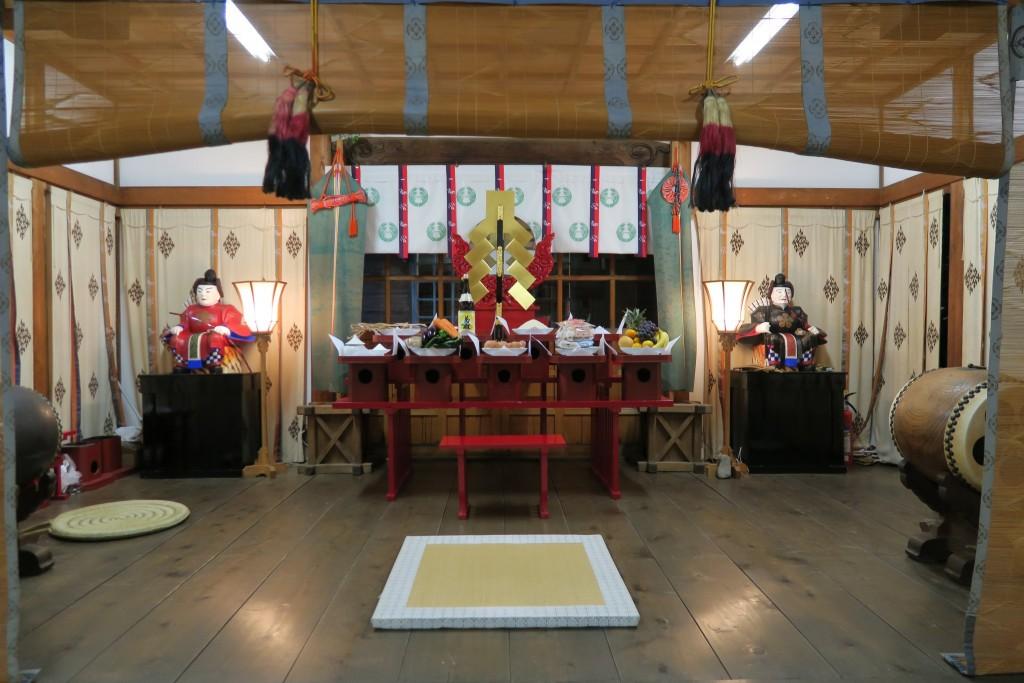 明日(10月16日)は二日市荒川神社の秋祭り