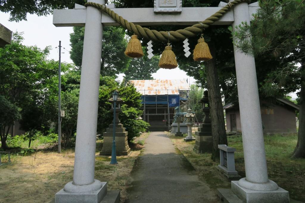 二日市 荒川神社 御造営事業フォトグラフ(平成27年6月15日)