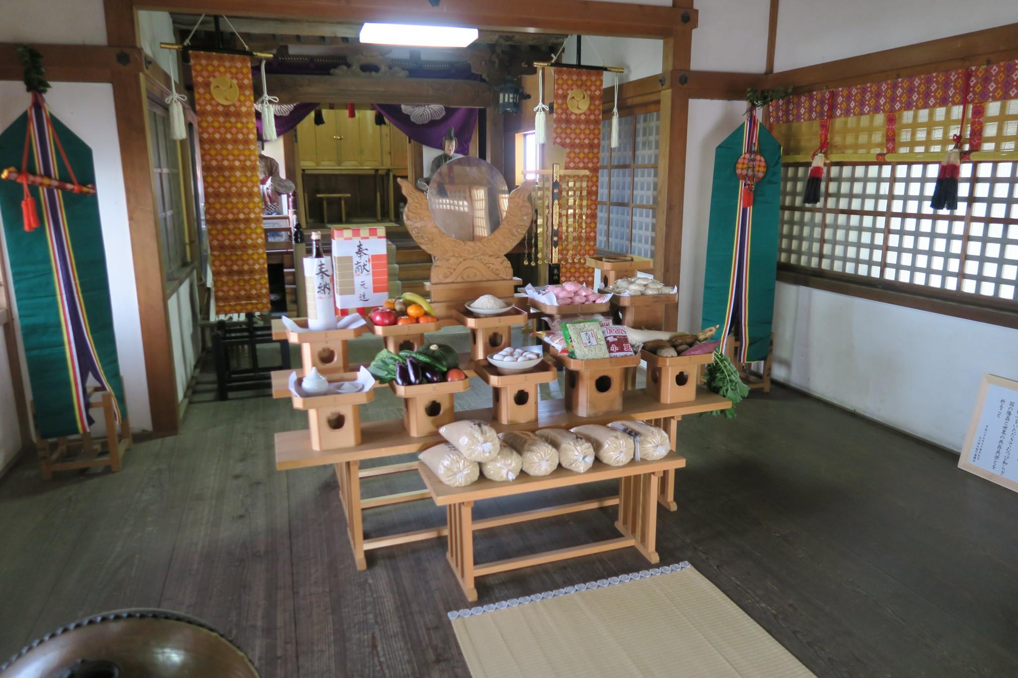 平成27年11月22日 郷八幡神社 新嘗祭 斎行