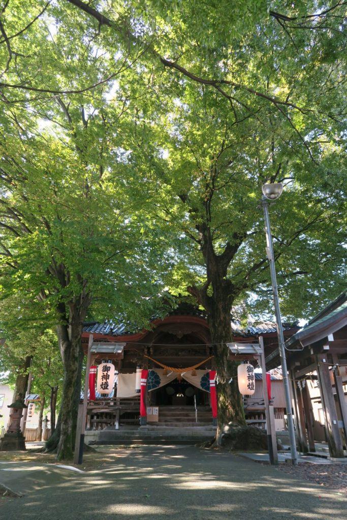 国造神社の屋根の造り