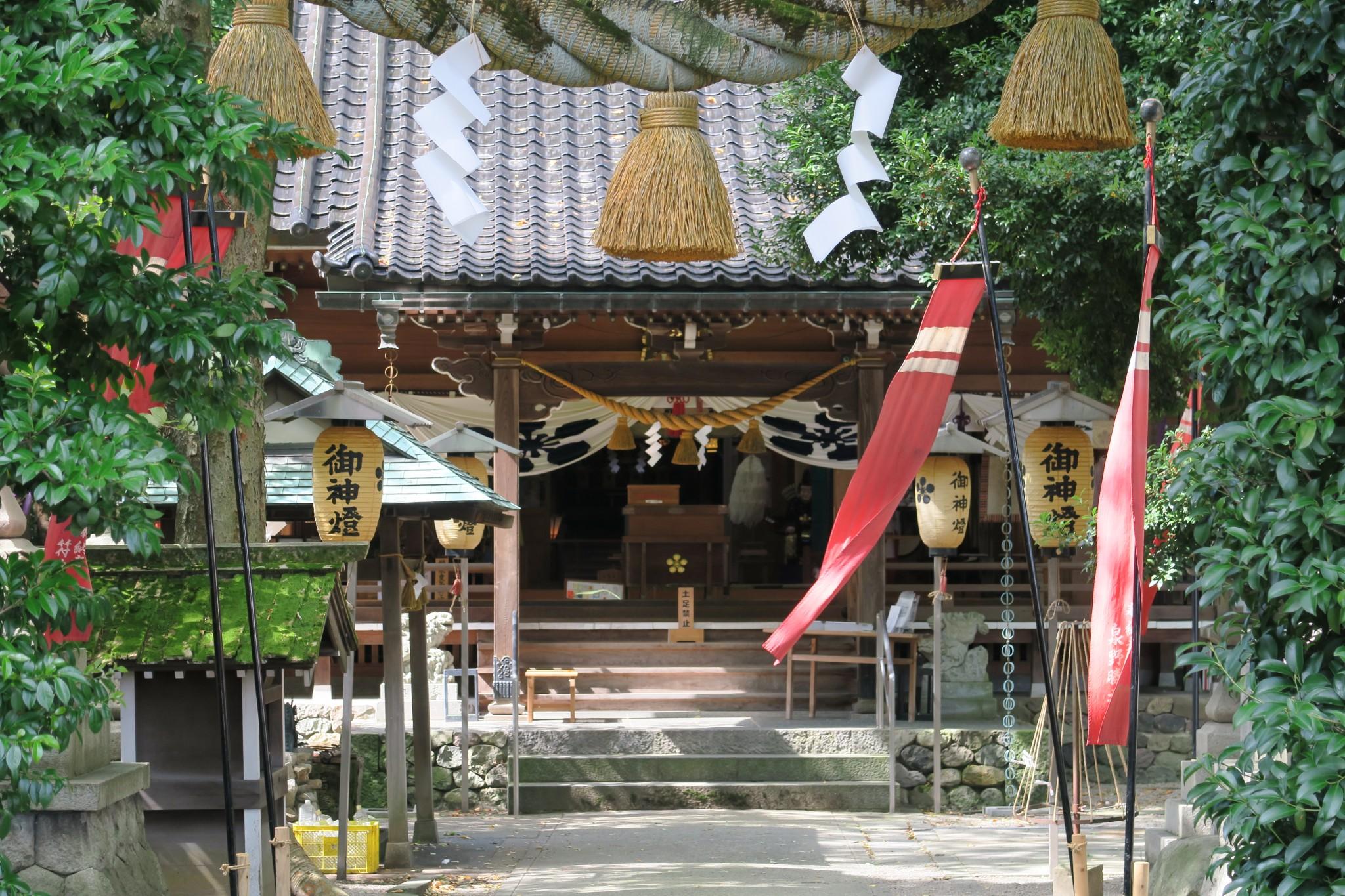平成27年の秋祭りの様子