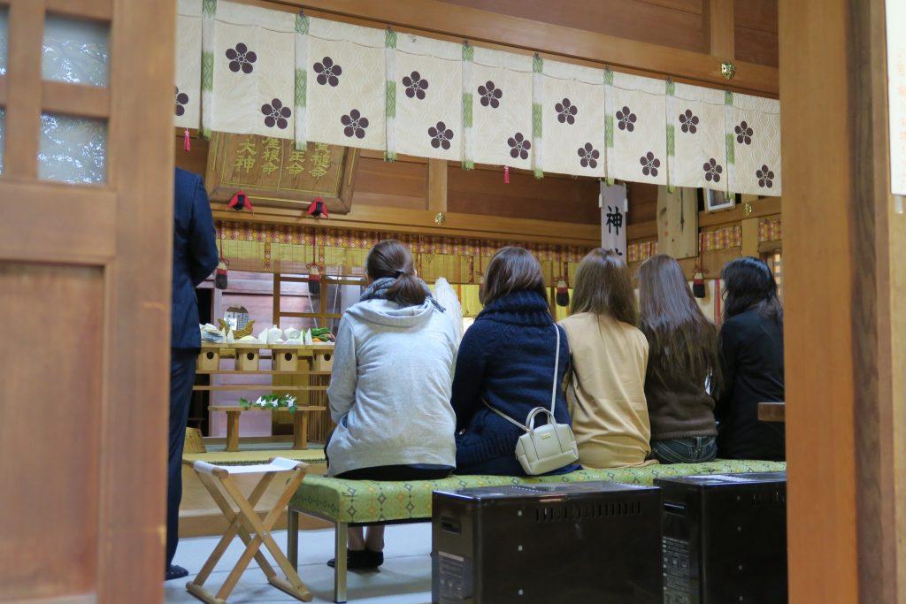 朔日詣 平成28年11月の春日神社