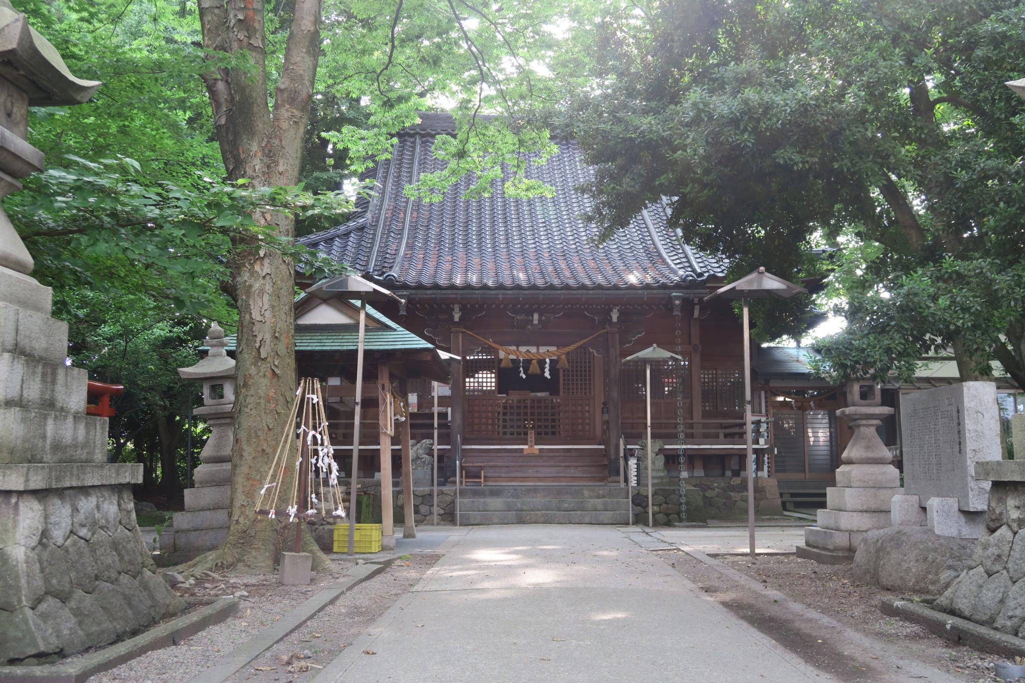 春日神社 参道(平成30年6月7日)